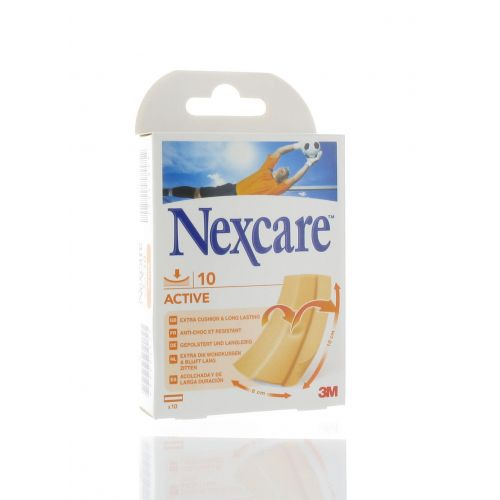 NEXCARE 3M ACTIVE STRIPS 10 X 6 CM (10)
