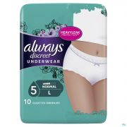 Always Discreet Incontinence Pants l Taille Bas 10