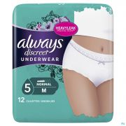 Always Discreet Incontinence Pants M Taille Bas 12