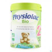 Physiolac Bio 2 Lait Pdr 800g