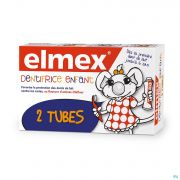 DENTIFRICE ELMEX® ENFANT TUBE 2x50ML