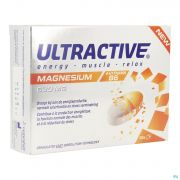 Ultractive Magnesium 630mg Comp 30