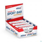 Etixx Natural Oat Bar Sweet&salty Caramel 12x55g