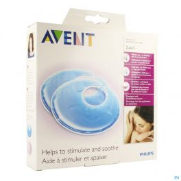 Philips Avent Coussinets Thermo 2en1 2 SCF258/02