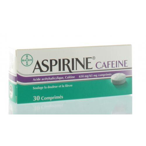 ASPIRINE CAFEINE 30 COMPRIMES