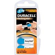 DURACELL PILE AUDITIVE EASYTAB DA675 BLEU (6)