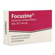 Focuzine 40 mg 60 comprimés