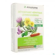 Arkofluide Detoxifiant Hepatique Amp 20x10ml