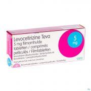 Levocetirizine Teva 5mg Comp 10