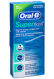 fil dentaire super floss