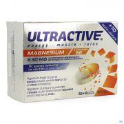Ultractive Magnesium 630mg Comp 60