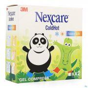 Nexcare 3m Coldhot Happy Kids Cp Gel 2 N1573kid