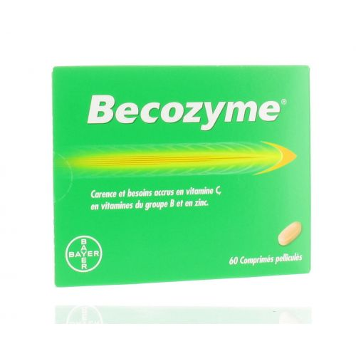 BECOZYME 60 COMPRIMES
