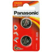 PILES PANASONIC CR2032 3V (2)