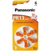 PILES PANASONIC POUR APPAREIL AUDITIF PR 13H (6)