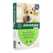 Advantage 400 Chiens 2540kg 4x4ml