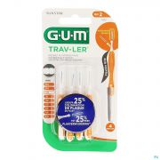 Gum Proxabrush Travel Cyl. Ufine 4 1412