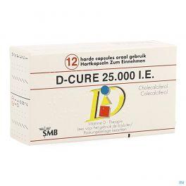 D Cure 25000ui Gelules 12