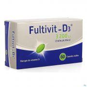 Fultivit-d3 3200iu Caps Molle 60