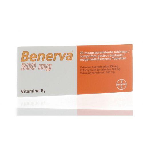 BENERVA COMPRIMES 20 X 300 MG