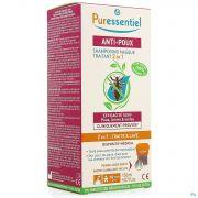 Puressentiel A/poux Sh Traitant 2en1 150ml+peigne