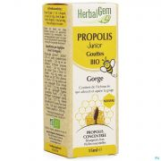 Herbalgem Propolis Junior Bio Fl Gutt 15ml