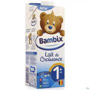 Bambix Lait Croissance Nature 1+ 1l