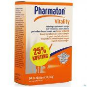 Pharmaton Vitality Comp 56 Promo 25% Gratuit