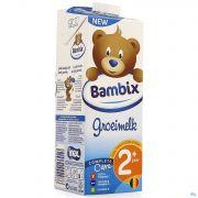 Bambix Lait Croissance Nature 2+ 1l