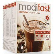 Modifast Chocolate Flavoured Milkshake 8x55g