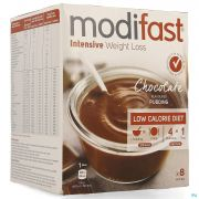 Modifast Chocolate Flavoured Pudding 8x55g