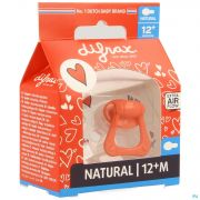 Difrax Sucette Natural +12m I Love