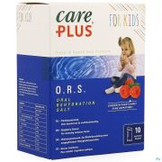 Care Plus Ors Kids Raspberry Sachet 10x5,3g