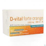 D Vital Forte Orange 1000mg/880ui Comp Croq. 90