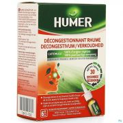 Humer Decongestionnant Rhume Spray Nasal 20ml
