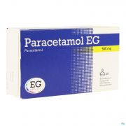 Paracetamol Eg 500mg Comp Eff. 40x500mg