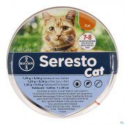 Seresto Cat 1,25g +0,56g Collier