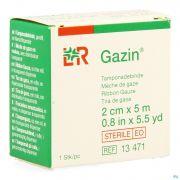 Gazin Meche Gaze Sterile 2cmx5m