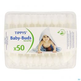 Tippys Baby Buds Tiges Coton 50