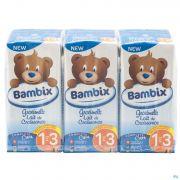 Bambix Lait Croissance Nature 1-3a 3x200ml