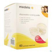 Medela Compresses Allaitement 60 0080373