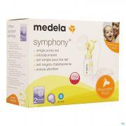 Medela Personalfit Plus Set Simple Tirelait S 21mm