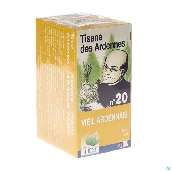 TISANE ARDENNAISE INFUSETTES NR 20 HYPERTENSION : Tisanes..