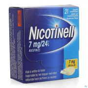 Nicotinell 7mg/24h Dispositif Transdermique 21