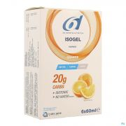 6d Sixd Isogel Orange 6x60ml