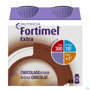 Fortimel Extra Choco Nf 4x200ml Rempl.2401495