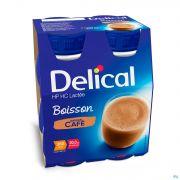 Delical Boisson Lactée Hp-hc Café 4x200ml