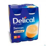 Delical Boisson Lactée Hp-hc Vanille 4x200ml