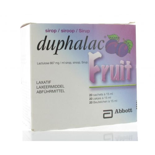 DUPHALAC SACHETS 20 X 15ML FRUIT