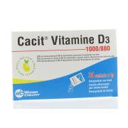 CACIT VITAMINE D3 1000/880 30 SACHETS